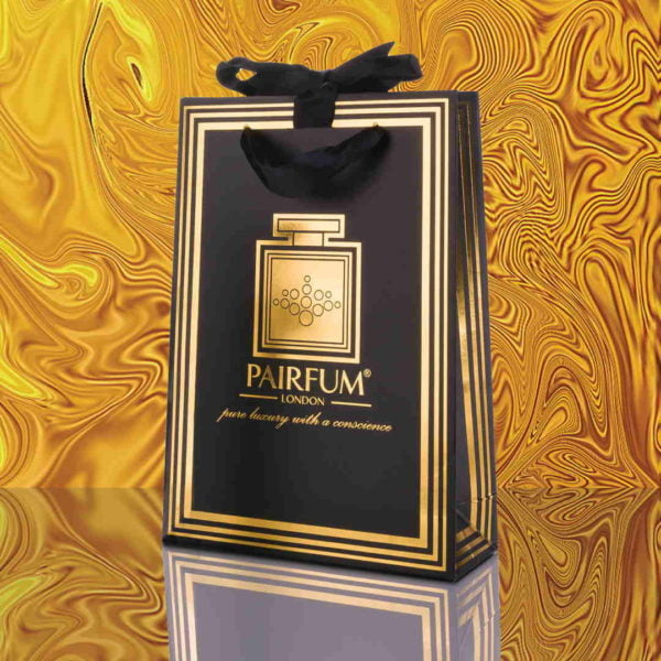 Pairfum Gold Black Luxury Carrier Bag Gift Small Liquid