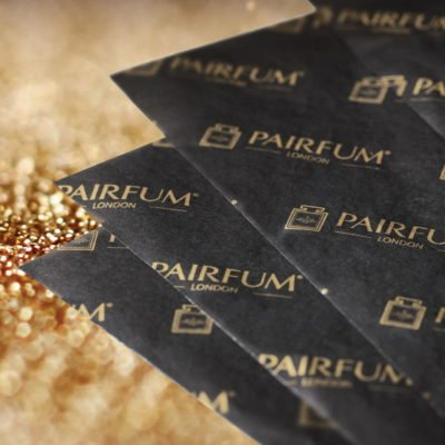 Pairfum London Tissue Paper Gold Grain Black