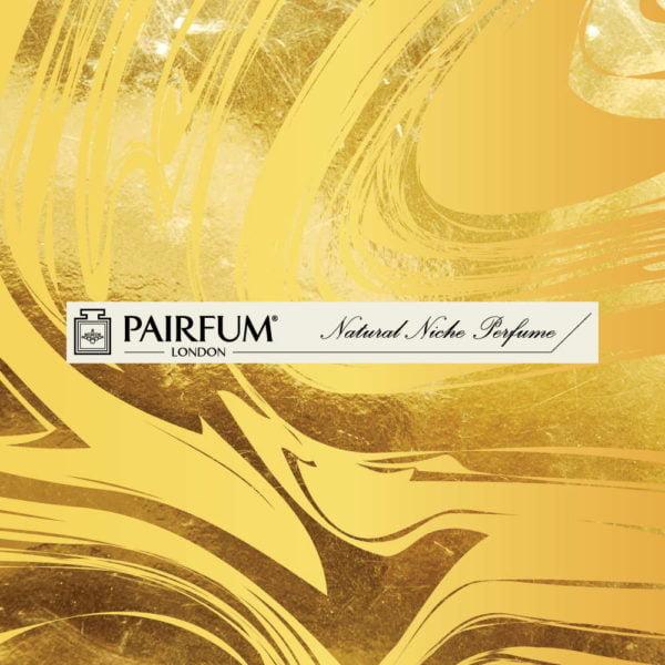 Smelling Strip Blotter Mouillette Gold Swirl