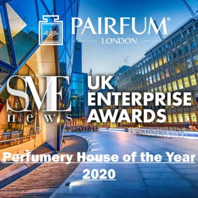 SME News 2020 UK Enterprise Awards Perfumery House Year Winner