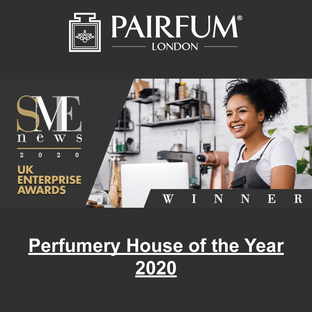 SME News 2020 UK Enterprise Awards Winner Perfumery House
