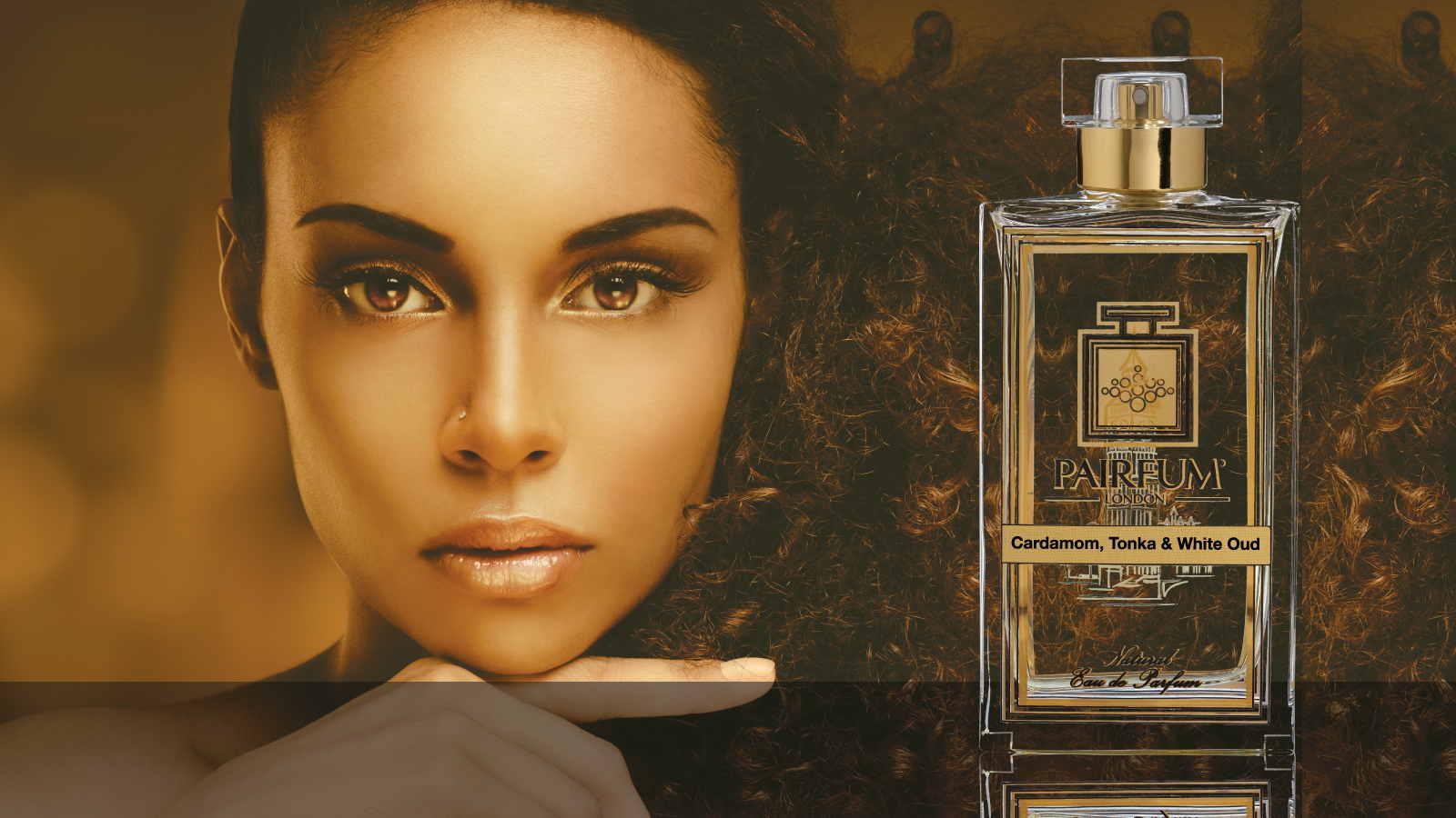 Eau De Parfum Person Reflection Cardamom Tonka White Oud Woman Finger 16 9