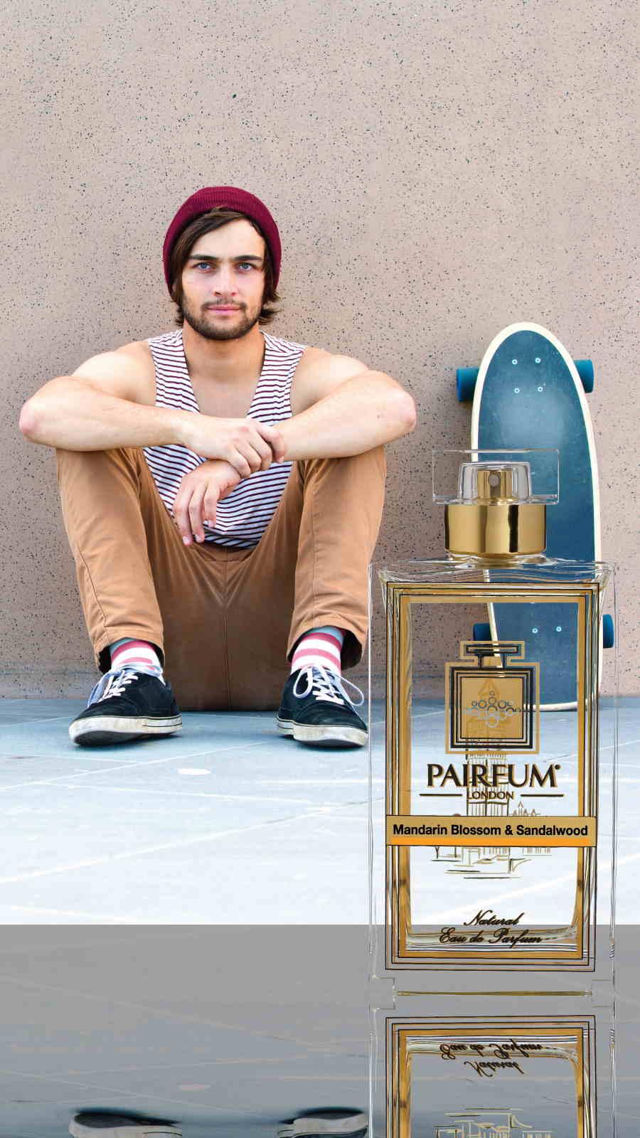 Eau De Parfum Person Reflection Mandarin Blossom Sandalwood Scateboard 9 16