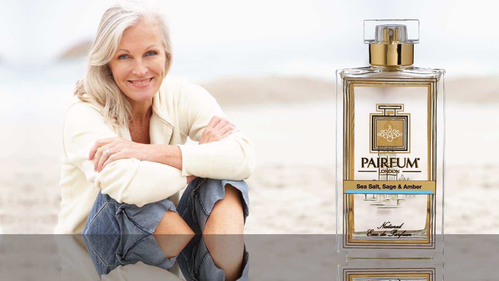 Eau De Parfum Person Reflection Sea Salt Sage Amber Woman Sand 16 9