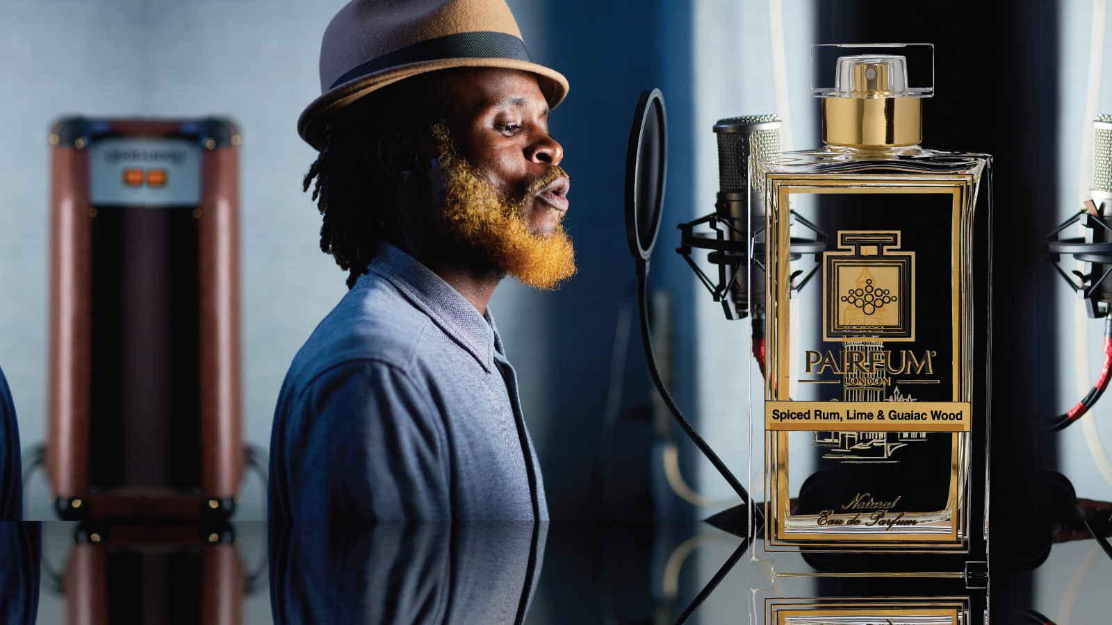 Eau De Parfum Person Reflection Spiced Rum Lime Guaiac Wood Man 16 9