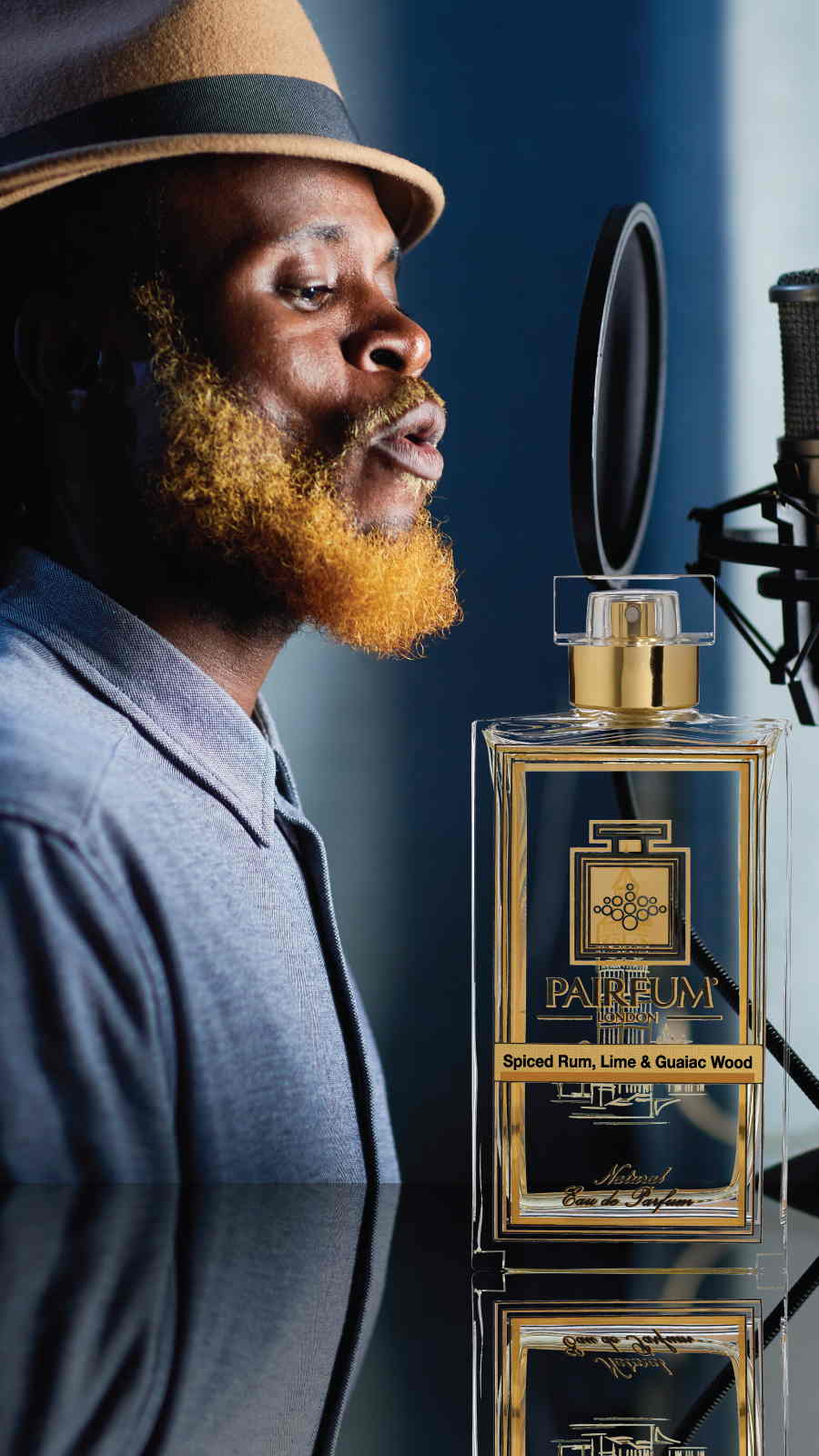 Eau De Parfum Person Reflection Spiced Rum Lime Guaiac Wood Man 9 16