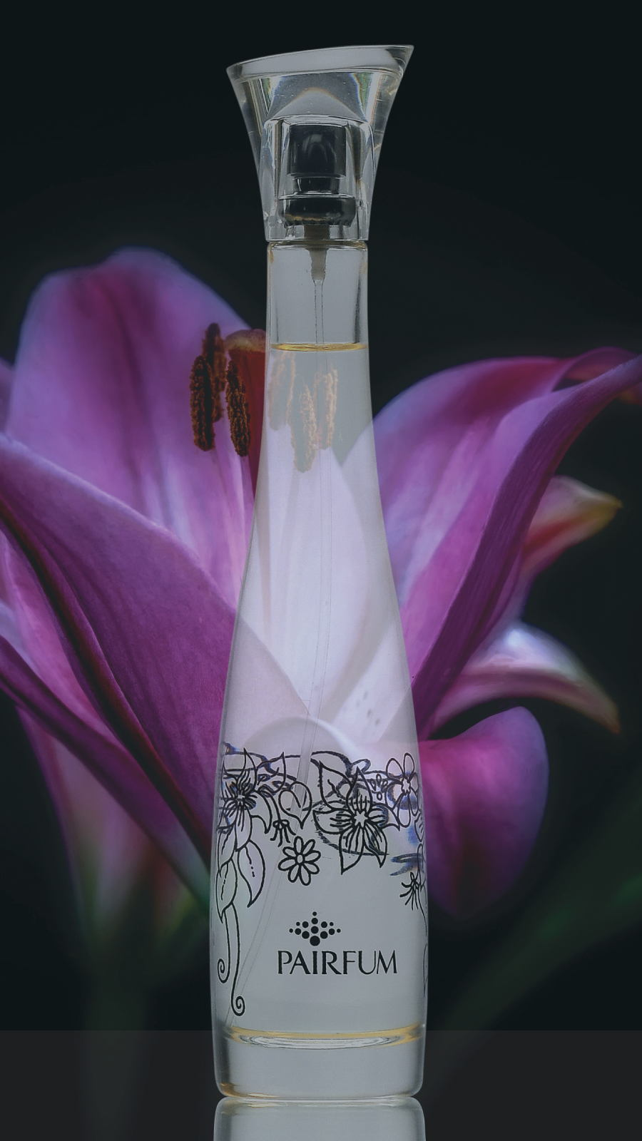 Flacon Room Fragrance Spray Black Orchid Flower 9 16