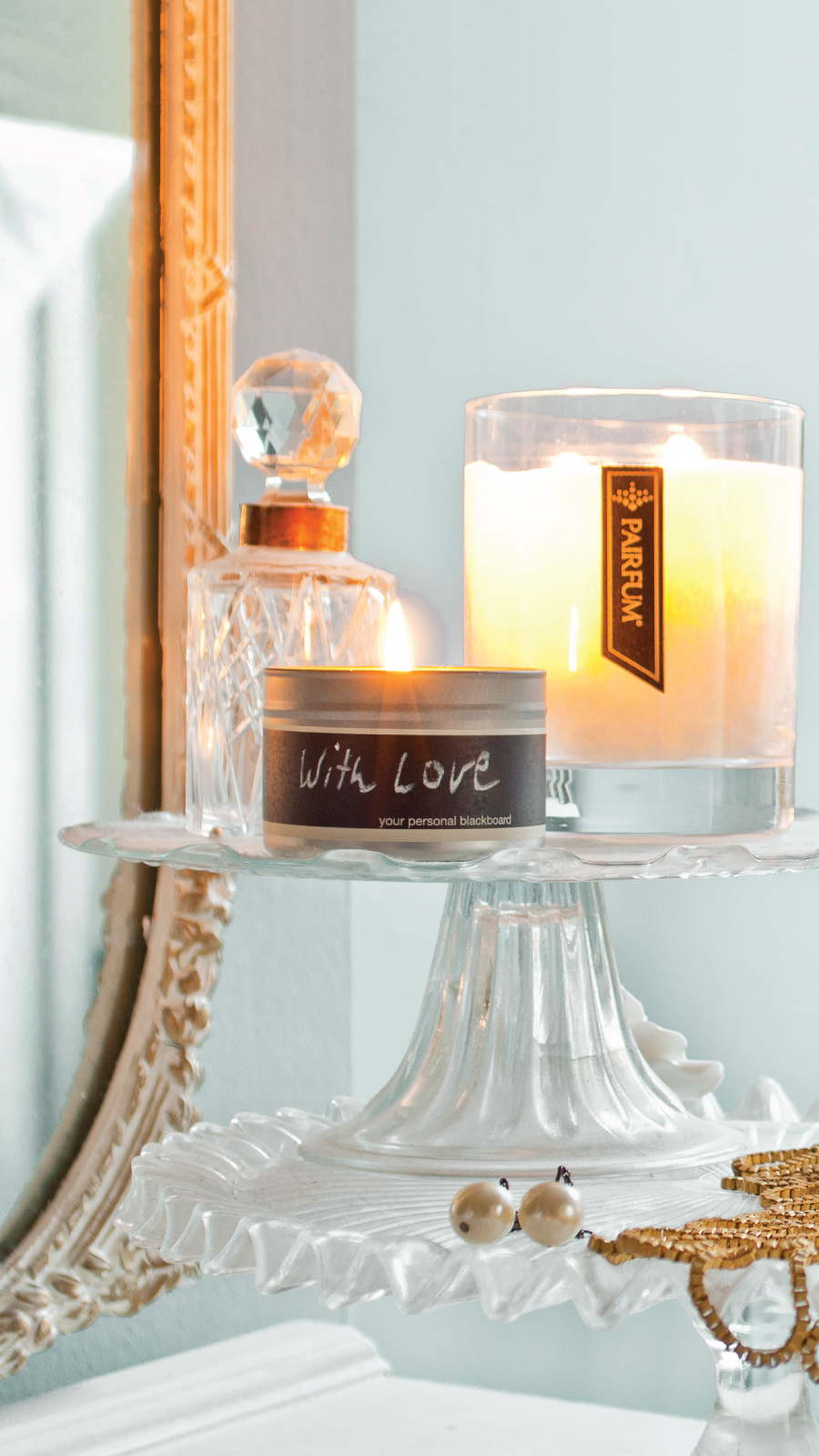 Lifestyle Living Room Natural Perfume Candle 9 16