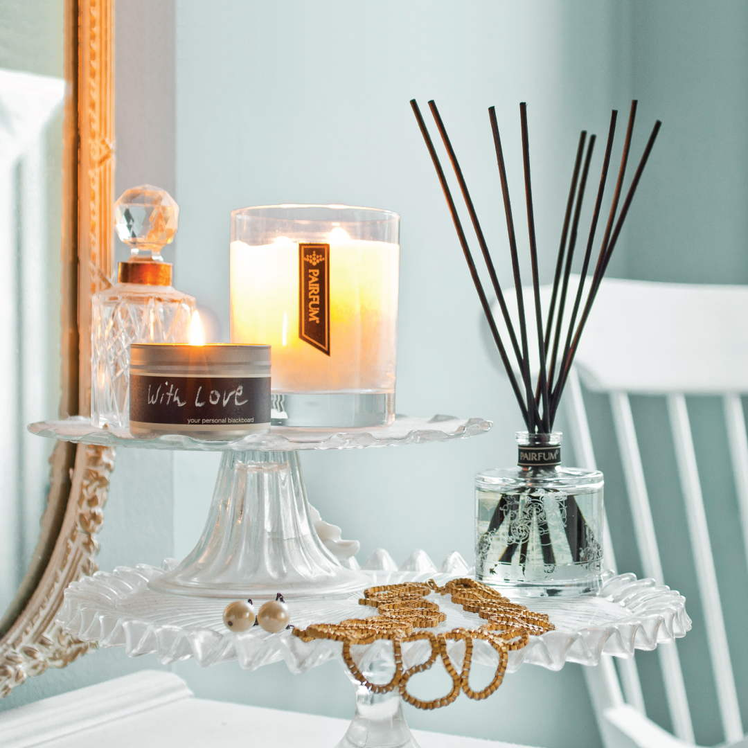Lifestyle Living Room Natural Reed Diffuser Fragrance Candle