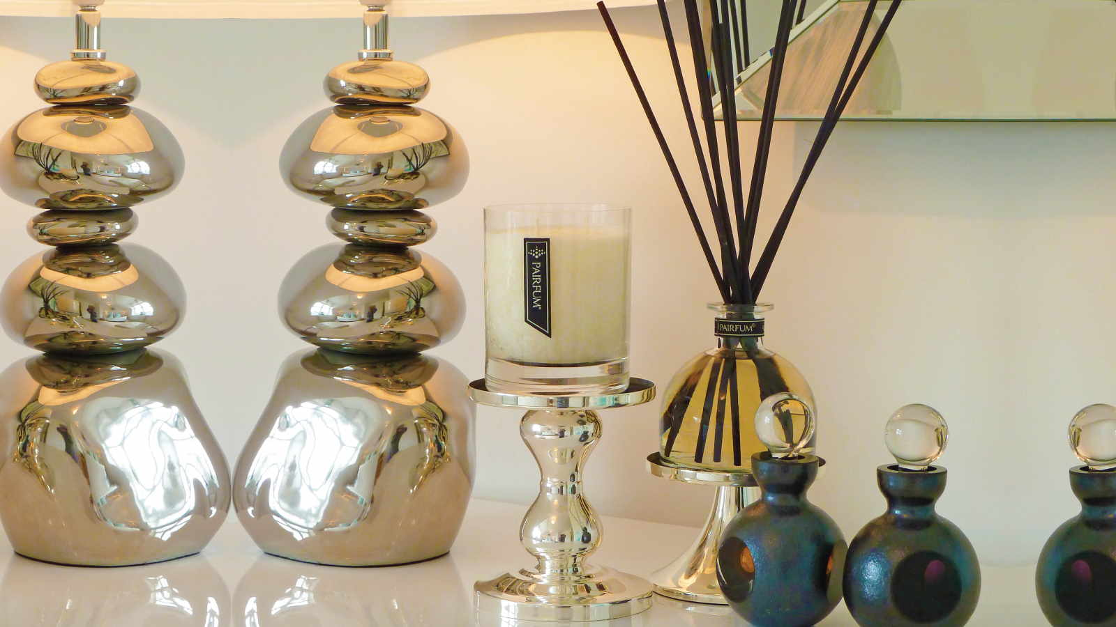 Lifestyle Sideboard Home Fragrance Candle Reed Diffuser 16 9