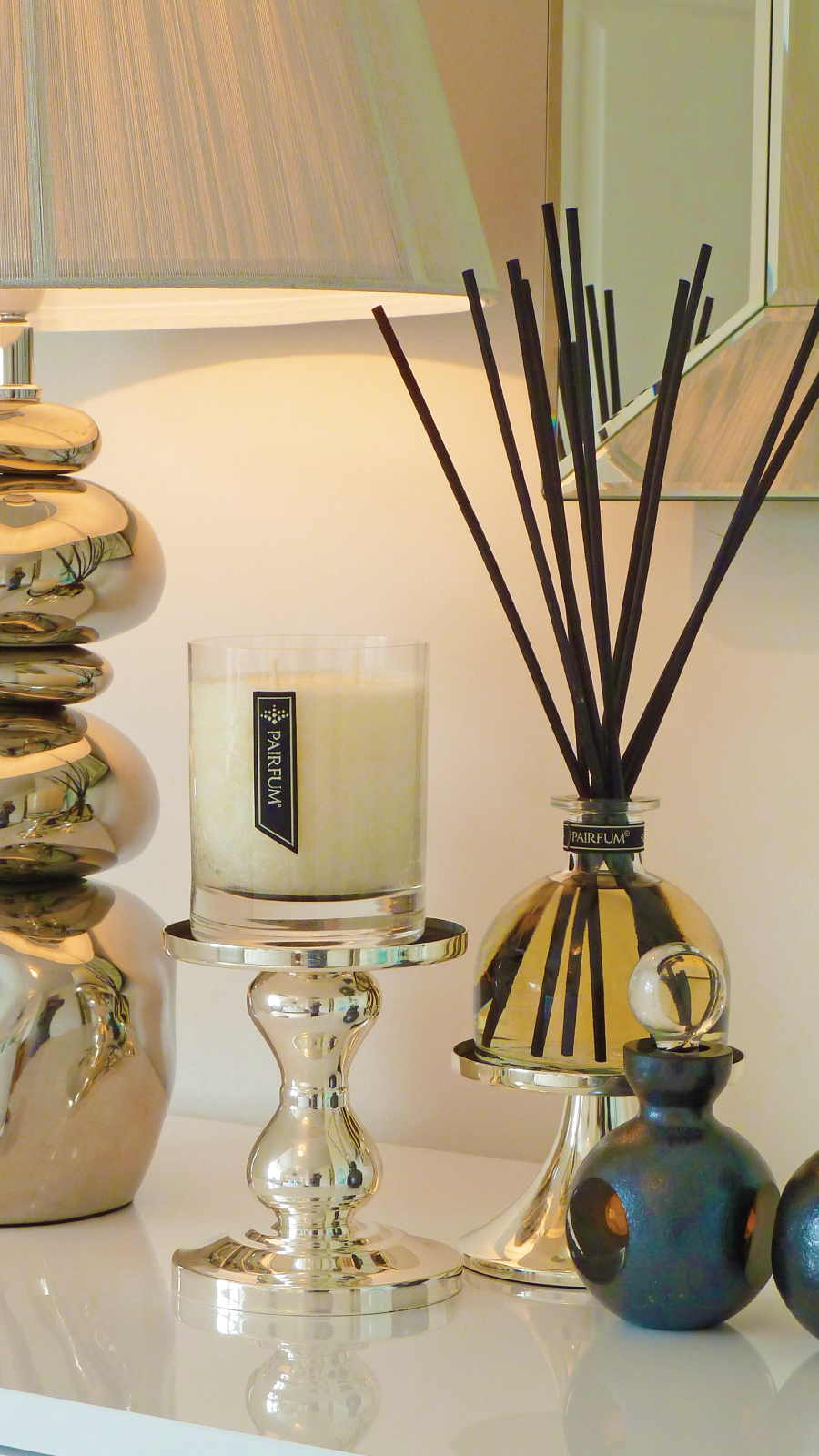 Lifestyle Sideboard Home Fragrance Candle Reed Diffuser 9 16
