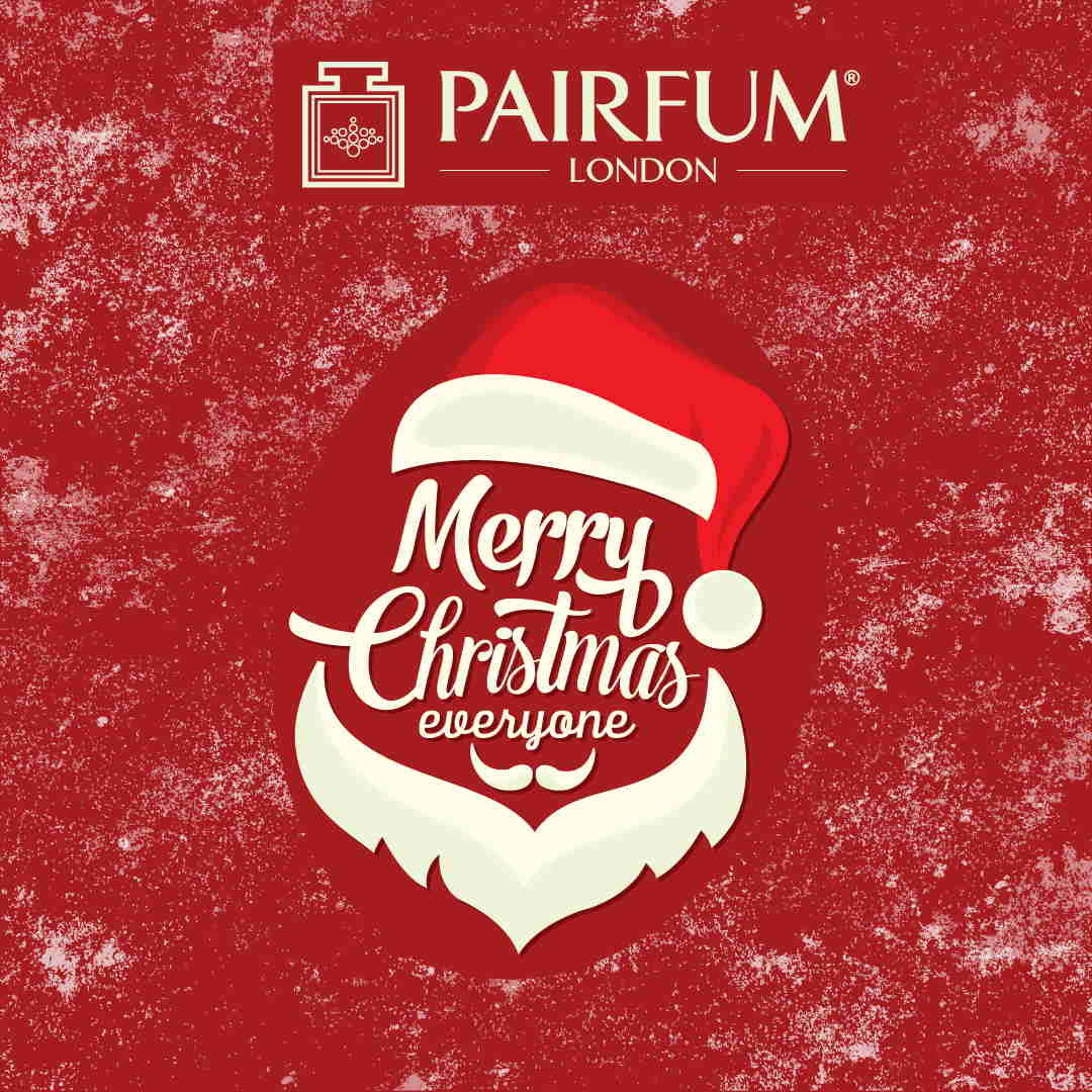 Merry Christmas 2020 Pairfum London Santa Claus
