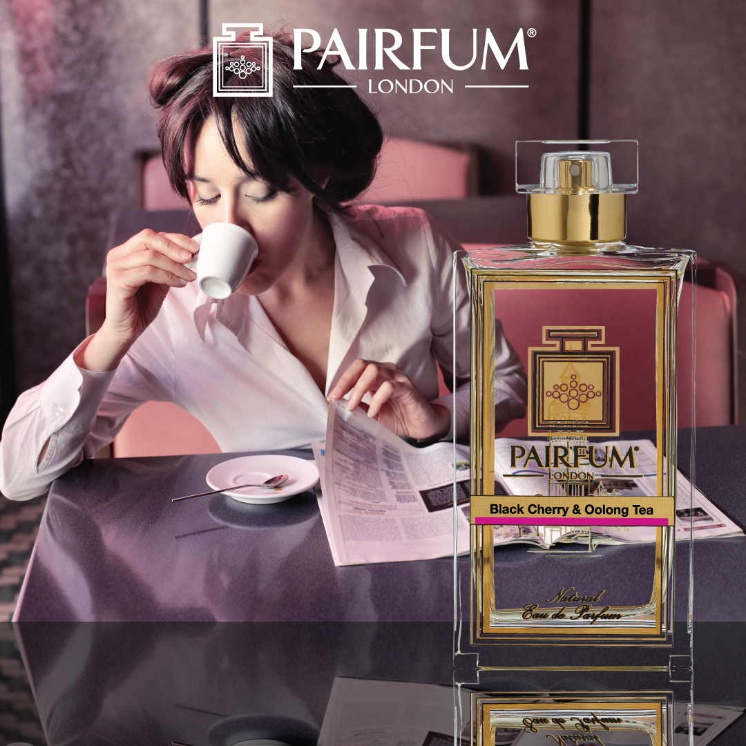 Pairfum Eau De Parfum Person Reading Black Cherry Oolong Tea 1 1