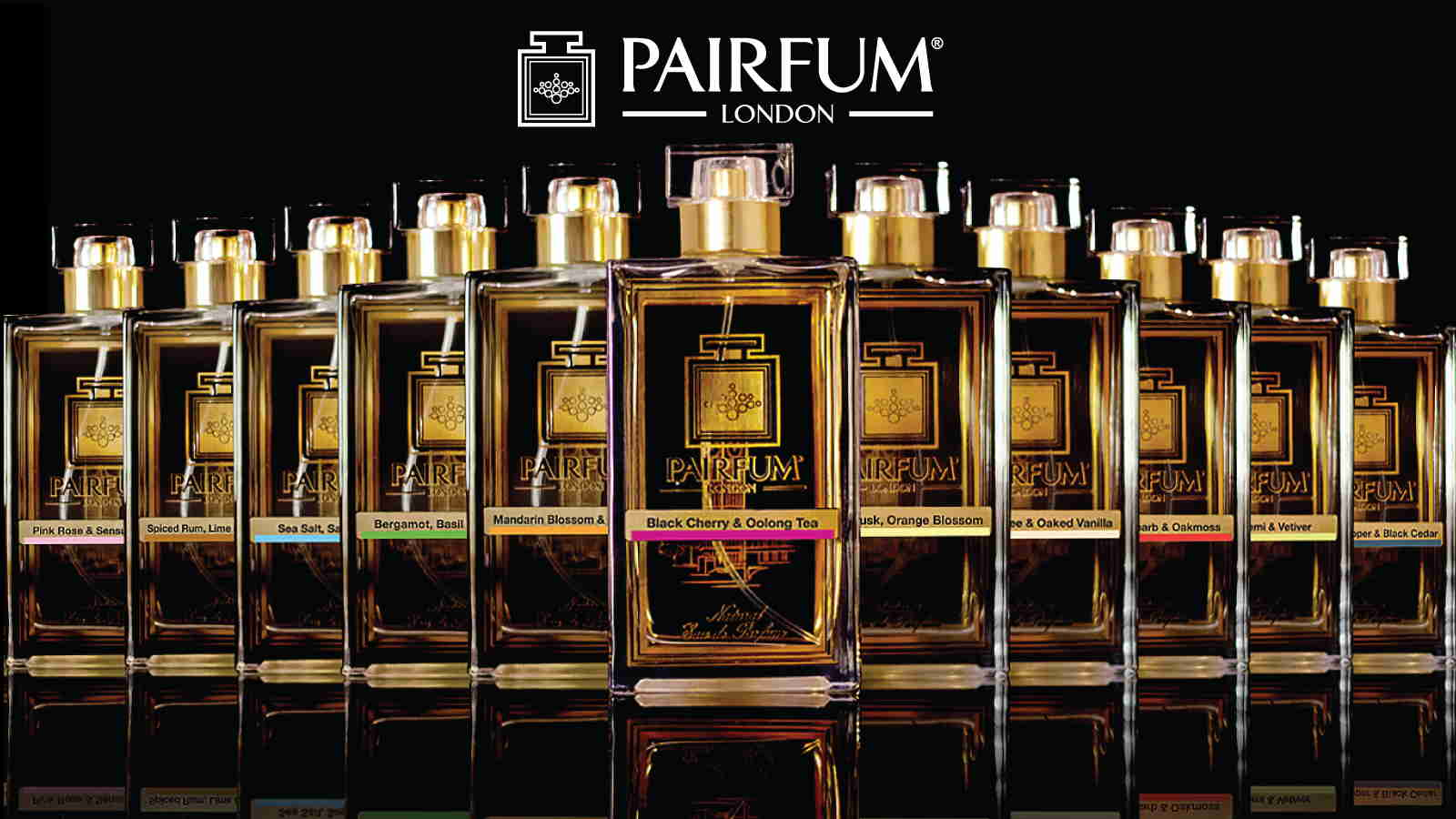 Pairfum London Natural Niche Eau De Parfum Range 16 9