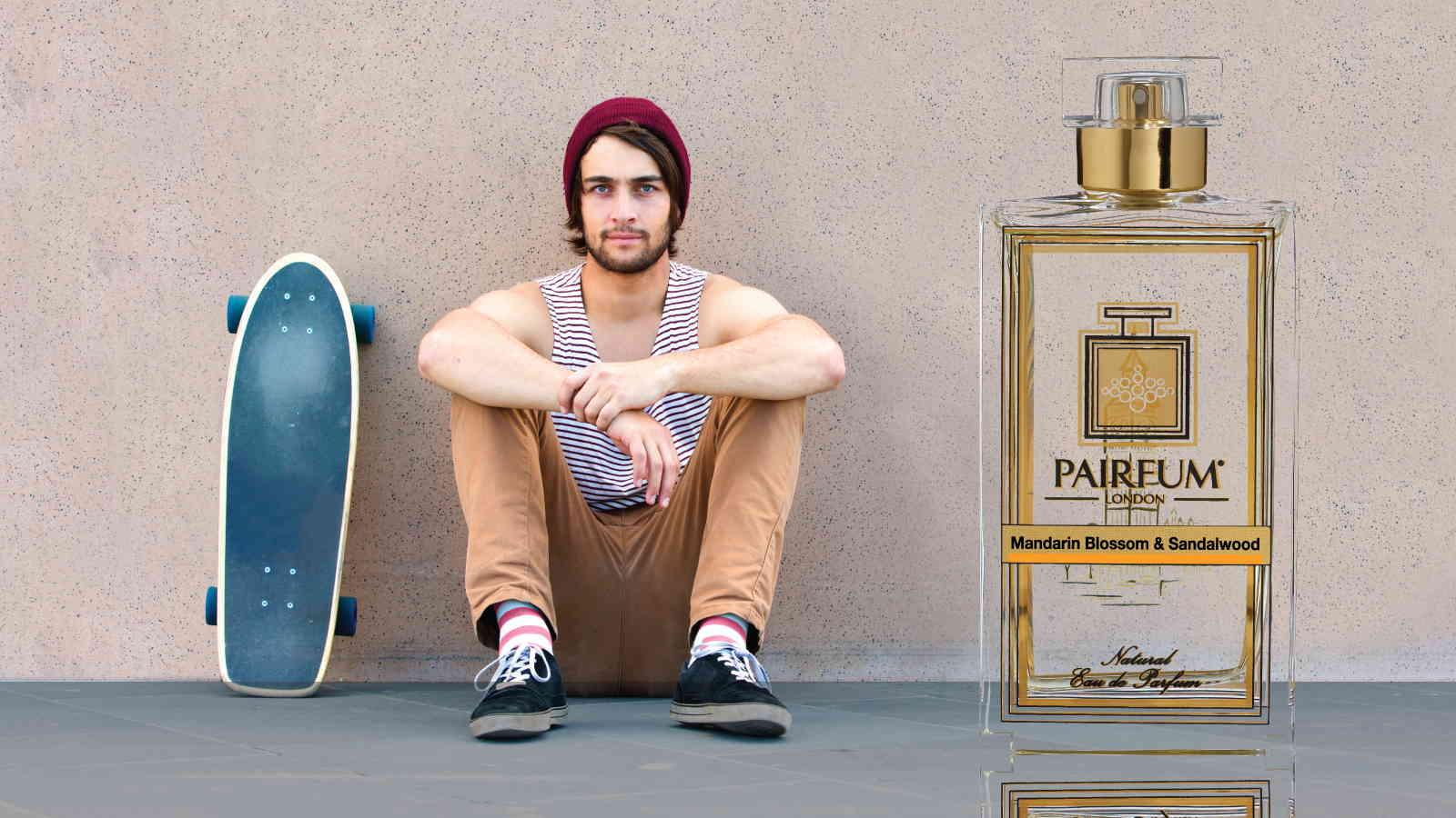 Eau De Parfum Person Reflection Mandarin Blossom Sandalwood Scateboard 16 9