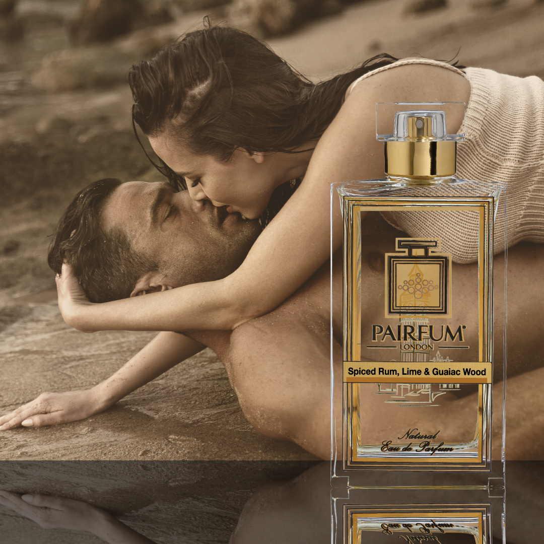 Eau De Parfum Person Reflection Fragrance Descriptions Spiced Rum Lime Guaiac Wood Couple About Kiss
