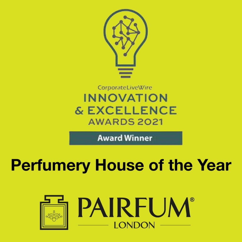 Innovation Excellence Awards Year 2021 Pairfum Perfumery House 1 1