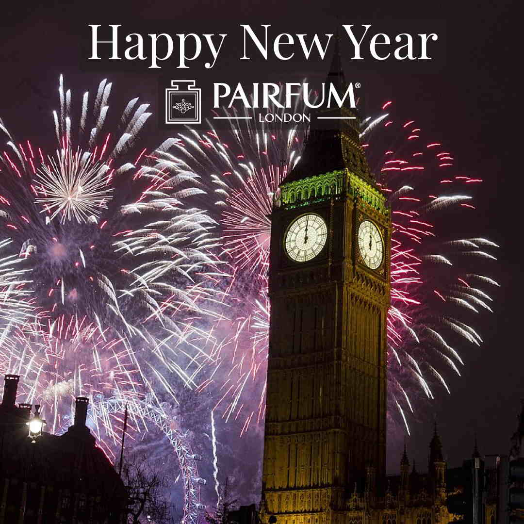 Pairfum London Happy New Year Big Ben Fireworks 1 1