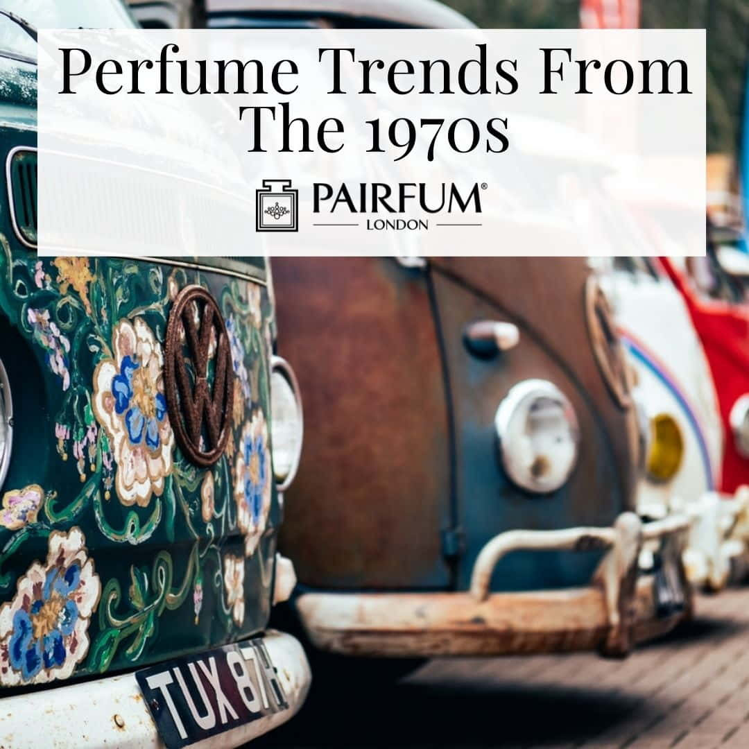 70s Floral Vehicles Presenting Perfume Trends