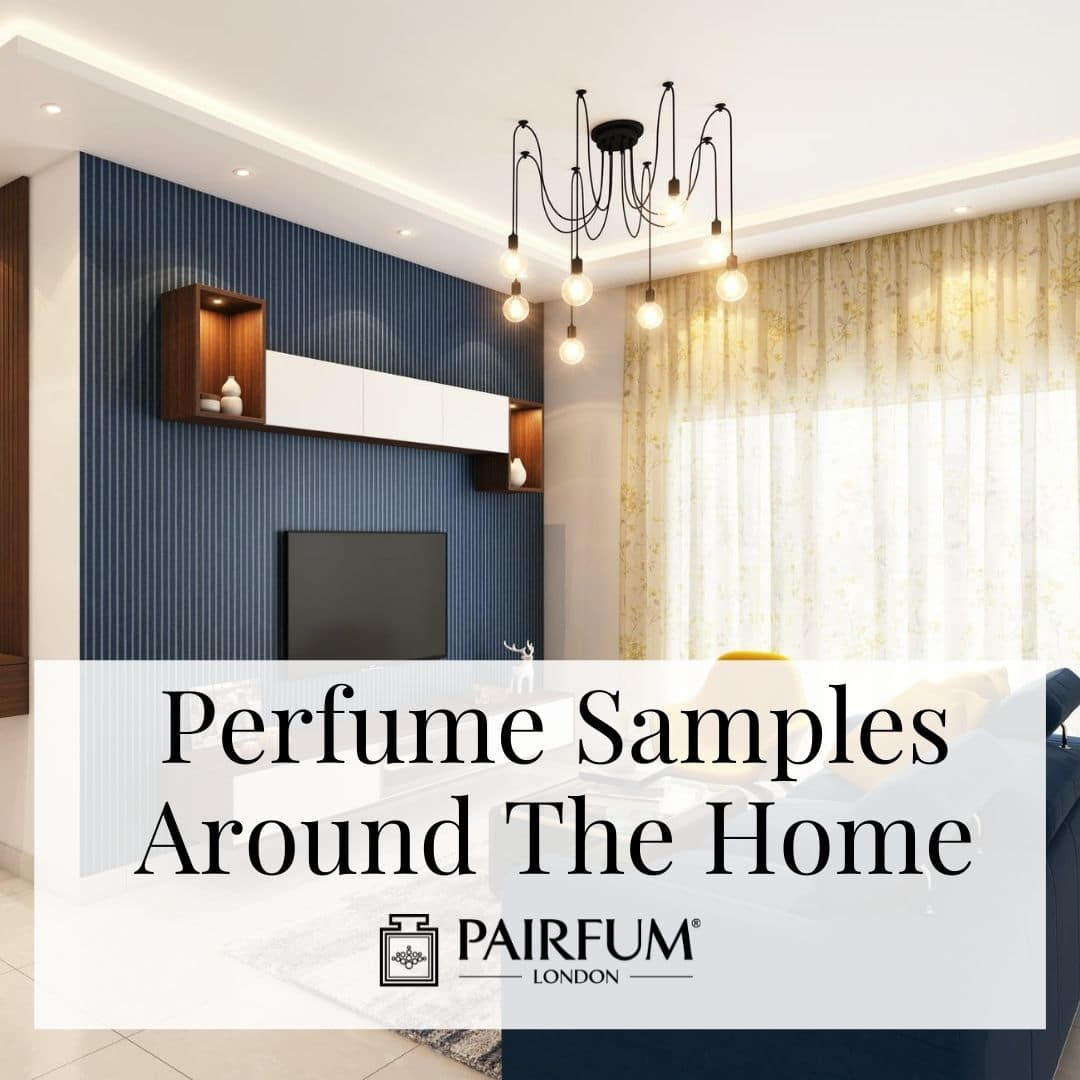 Perfume Samples Used In The Home
