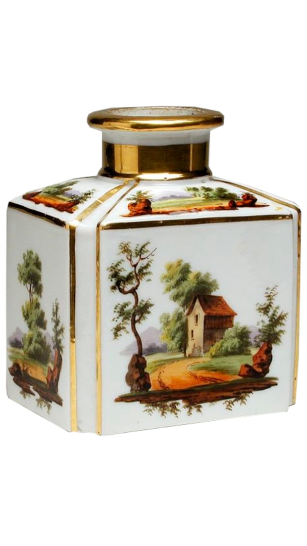 History Of Perfume 18th Century White Perfume Bottle 9 16