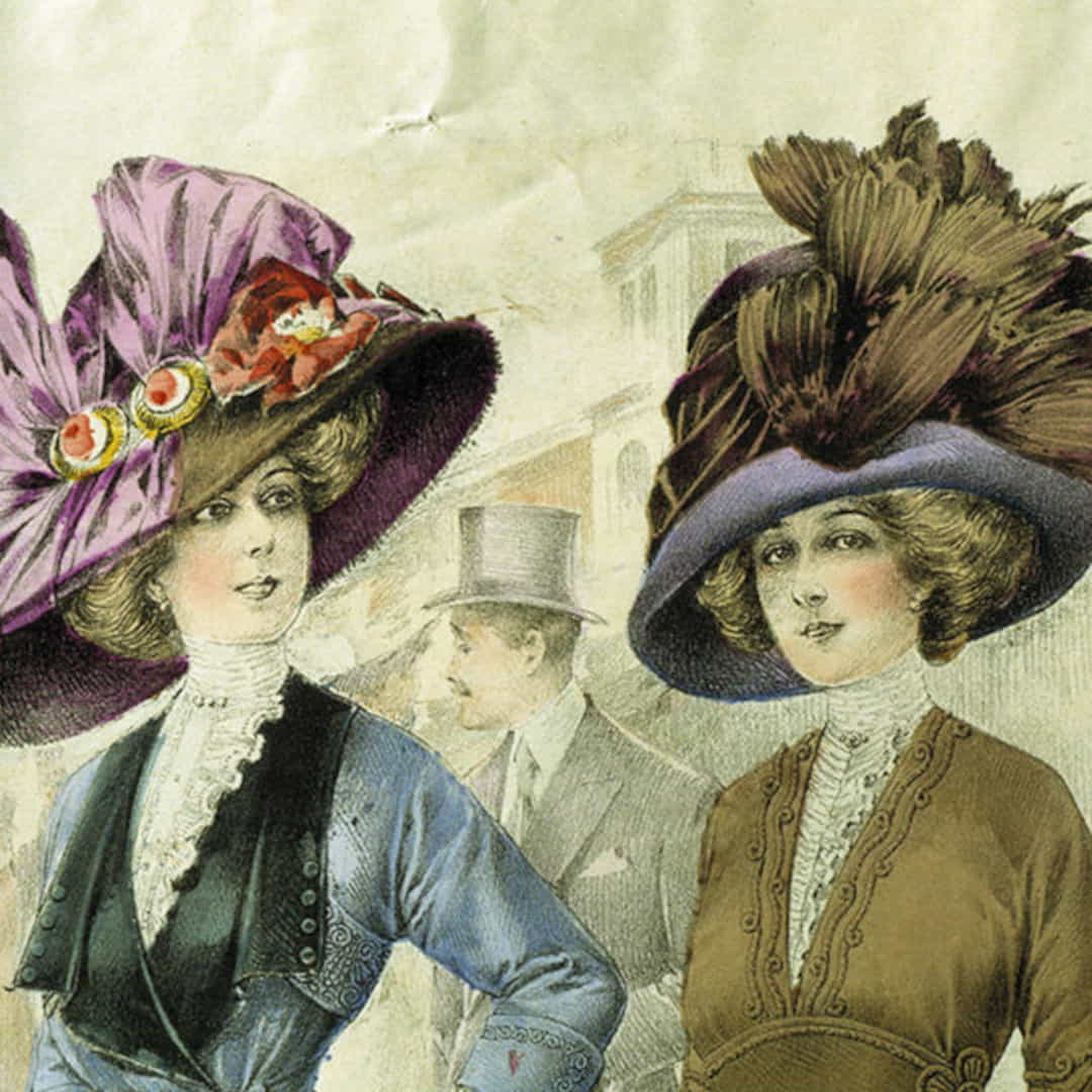 History Of Perfume 1920s Women's Fashion Painting 1 1