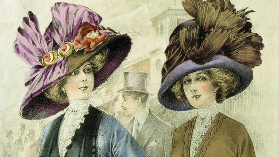 History Of Perfume 1920s Women's Fashion Painting 16 9