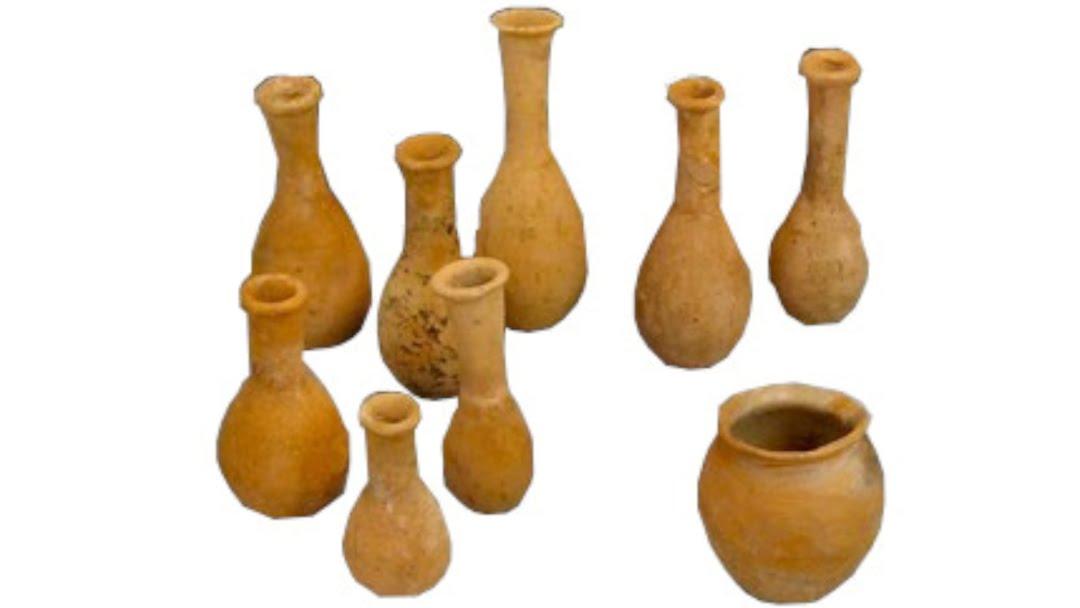History Of Perfume Ancient Roman Perfume Bottles & Flasks 16 9