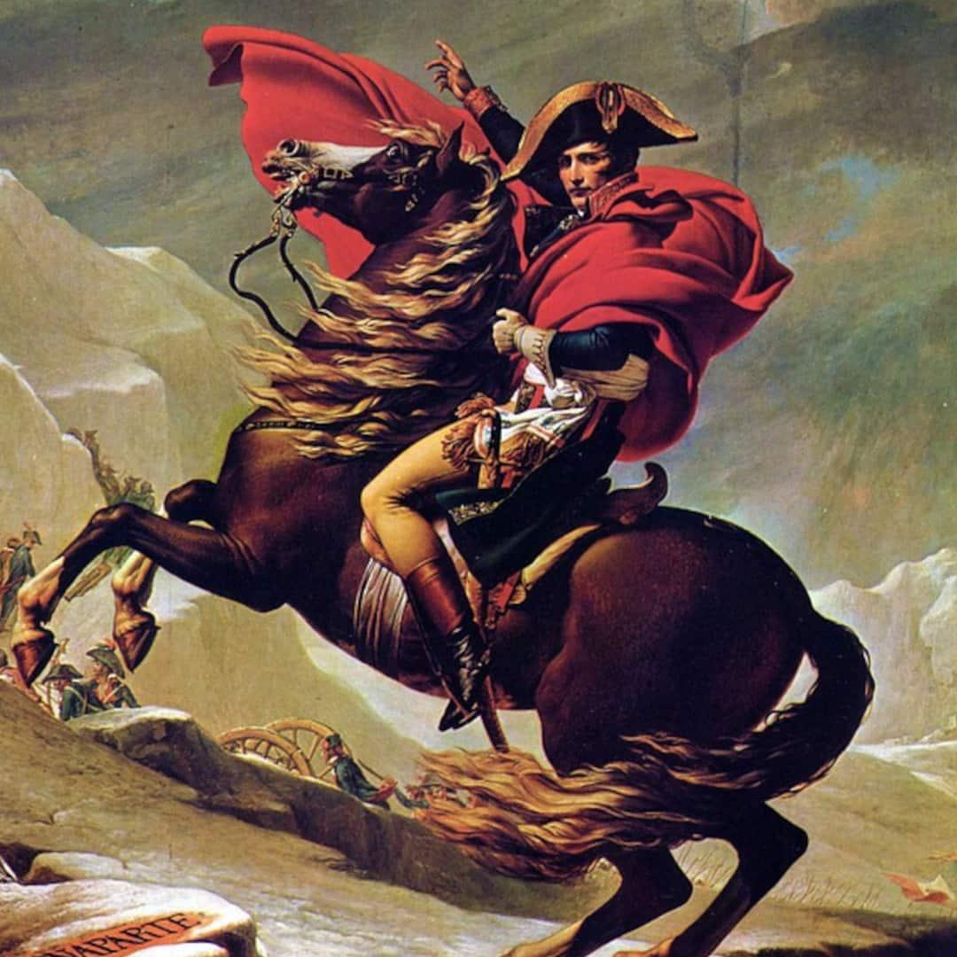 History Of Perfume Napoleon Bonaparte On Horseback 1 1