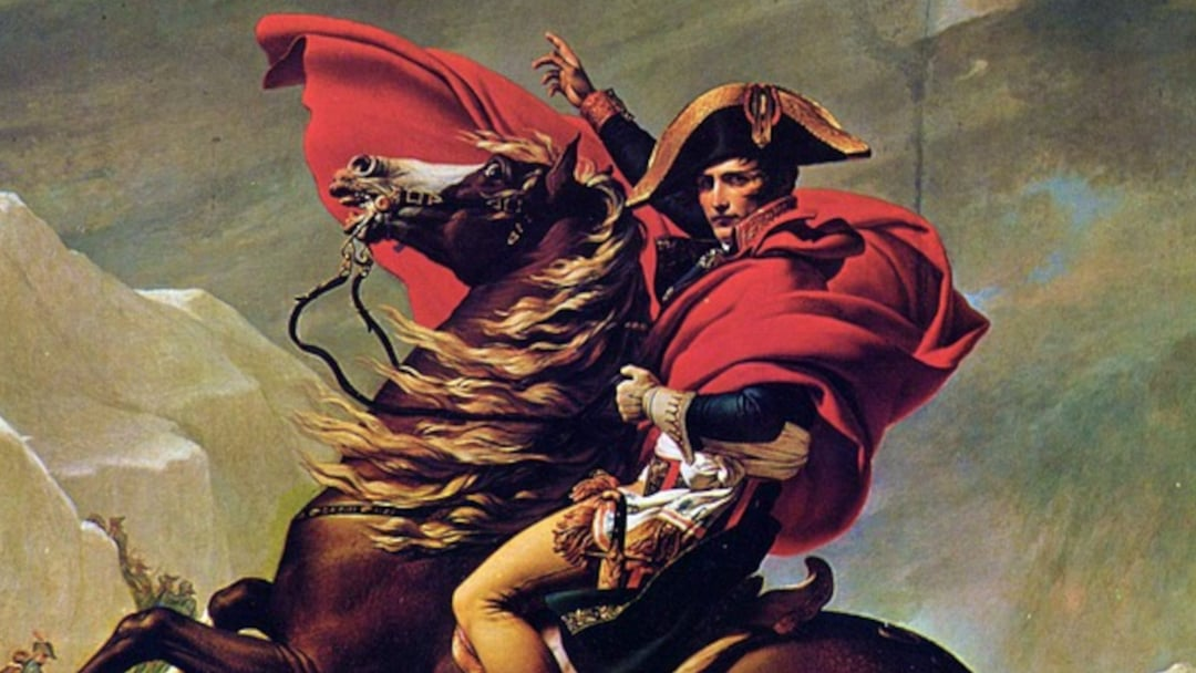 History Of Perfume Napoleon Bonaparte On Horseback 16 9