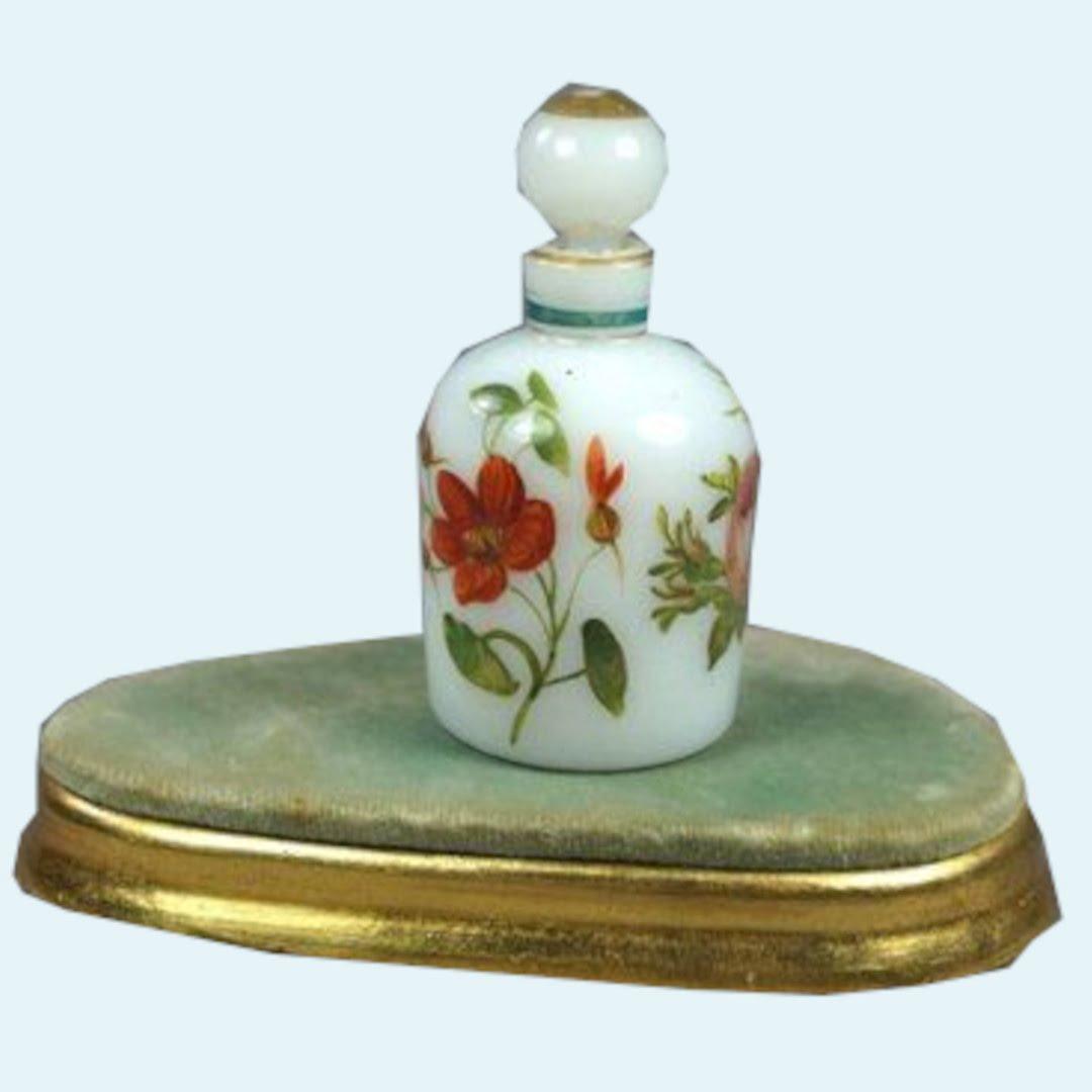 History Of Perfume Turn Of The Century White Perfume Bottle 1 1