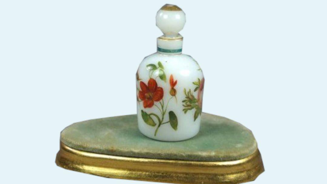 History Of Perfume Turn Of The Century White Perfume Bottle 16 9