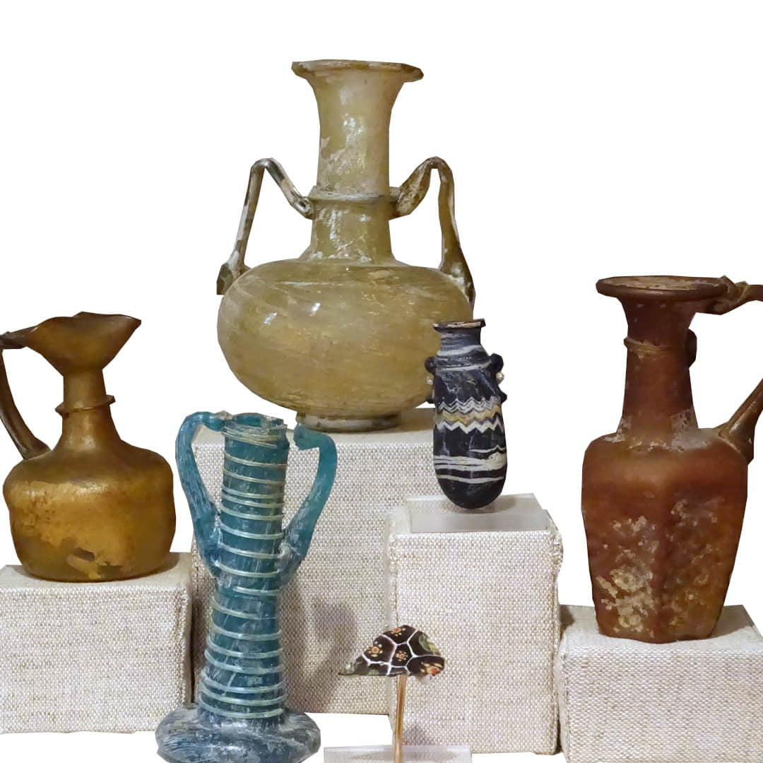 The History Of Perfume Assortment Of Ancient Perfume Vessels 1 1
