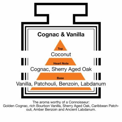 Fragrance Description Cognac Vanilla Coconut Patchouli Benzoin Labdanum