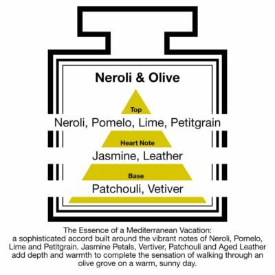 Fragrance Description Neroli Olive Pomelo Lime Leather Vetiver