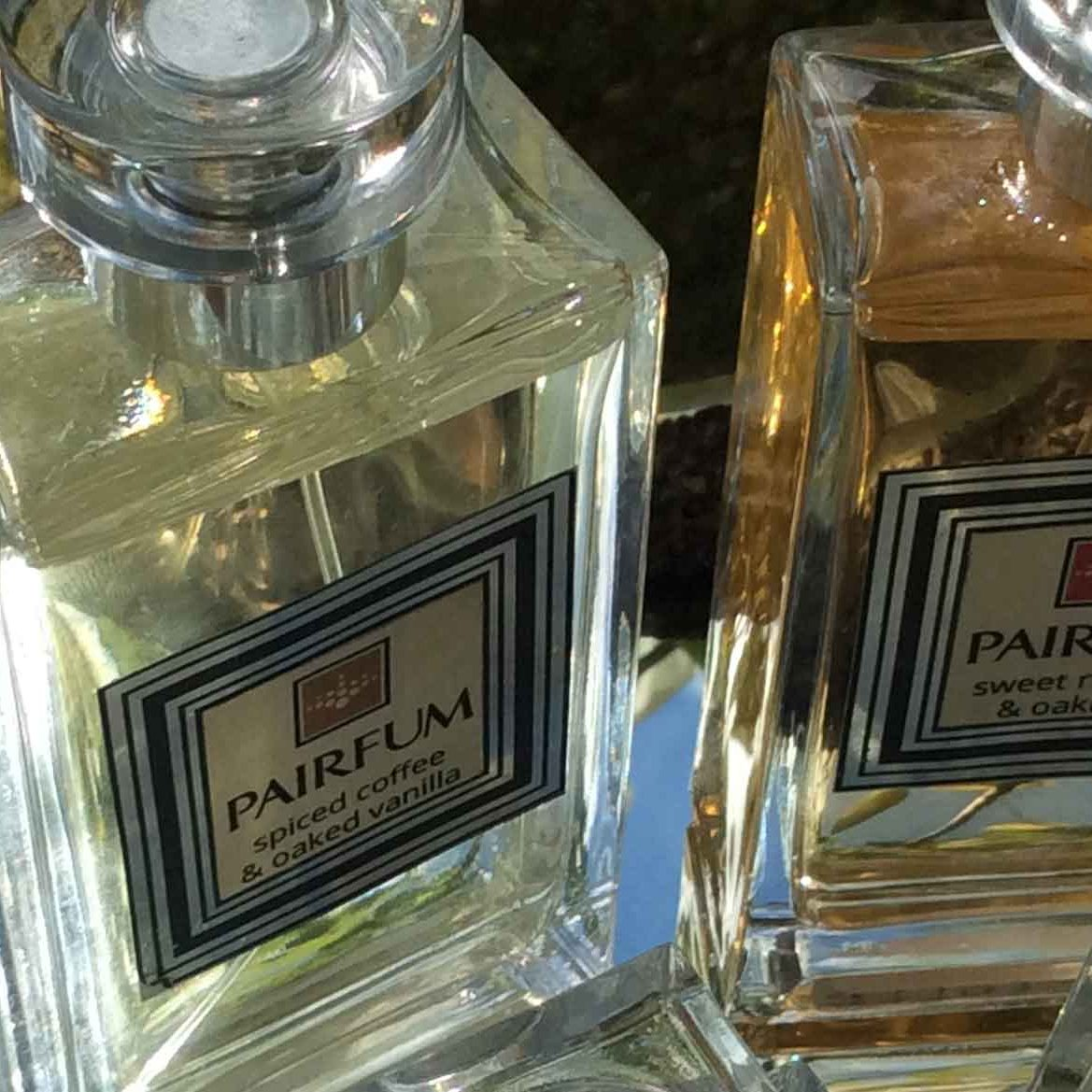 PAIRFUM boutique couture perfume Niche eau de parfum private collection home fragrance skin care sweet rhubarb oakmoss