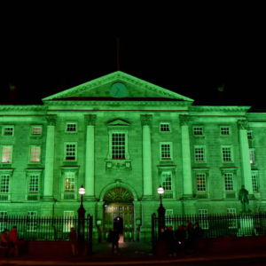 Ireland St Patrick Day 2020 Famous Buildings Green 10