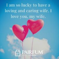 Love Messages For Wife In The Sky