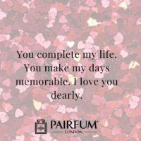 Romantic Love Messages Against Rose Petals