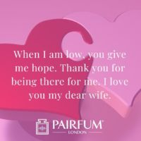Romantic Love Messages Against Two Hearts Pink