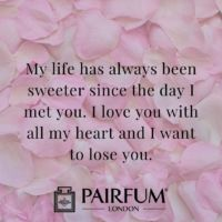 Romantic Wife Husband Love Messages Quotes And Flower Petals