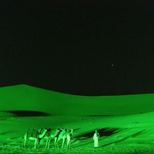 St Patricks Day Green Arabian Desert Dubai