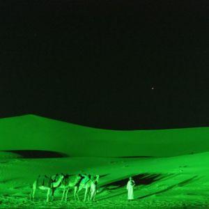 St Patricks Day Green Arabian Desert Dubai