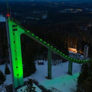 St Patricks Day Green Matti Nykäsen Mäki Jyväskylä Finland